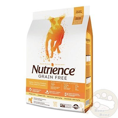 Nutrience紐崔斯無榖養生系列犬用火雞鮭魚配方11.5kg