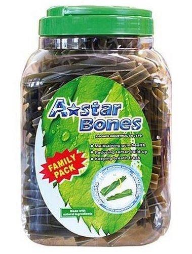 ABones多效雙刷頭潔牙骨-家庭號SS/S/M/L/LL(桶裝)