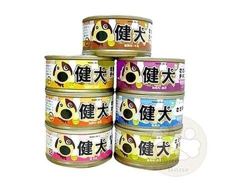 健犬 狗罐頭-雞肉罐頭 80g全口味7種/狗狗罐頭/狗餐盒/挑嘴犬