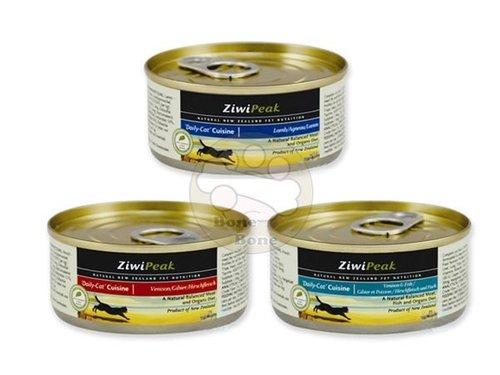 紐西蘭ZiwiPeak 巔峰 85%鮮肉貓糧85G-羊肉.鹿肉.鹿肉鱈魚.牛肉/貓罐頭/主食罐