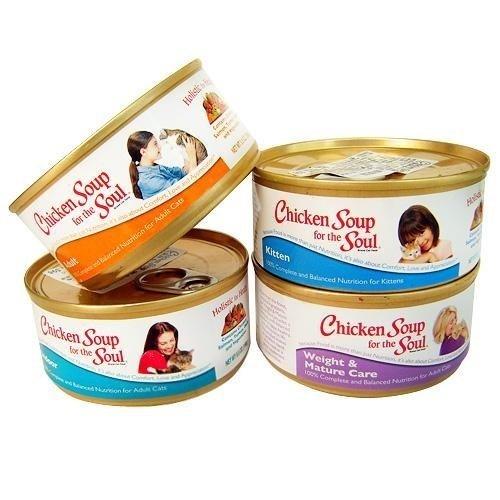 美國 Chicken Soup 心靈雞湯 主食貓罐/寵物罐頭156g