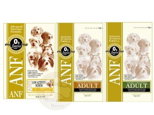 美國ANF愛恩富 現貨特級成犬(雞肉米/羊肉米)小顆粒/高齡犬/狗狗飼料 3公斤