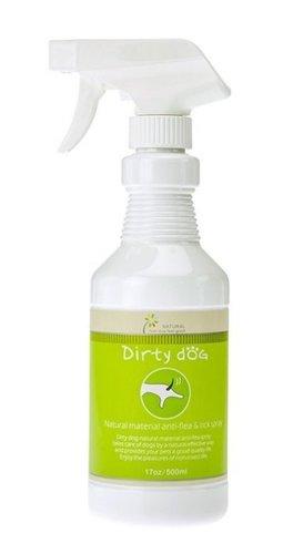 Dirty Dog 純天然精油防蚤驅蟲噴劑 SGS檢驗通過 不含防腐劑/除跳蚤壁蝨 500ml