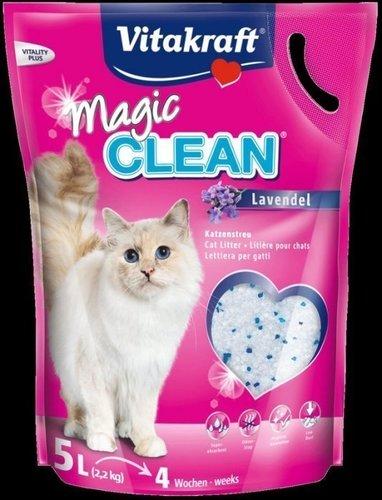 Vita水晶砂/抗菌消臭貓砂-薰衣草味5L 貓砂 貓沙 水晶貓砂 貓便盆 貓水晶砂 Vita貓砂