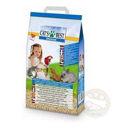 CAT'S BEST德國凱優 貓砂/木屑砂/藍標粗木屑砂.藍標木屑砂10L