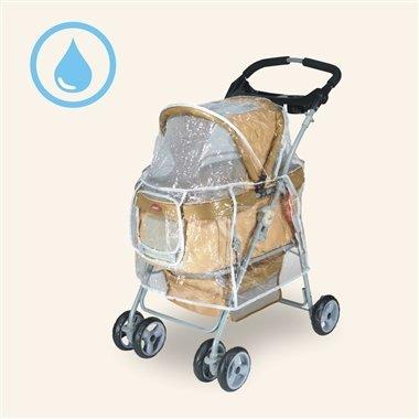 沛德奧Petstro/推車雨衣/寵物推車雨罩/408A-RC/雨罩