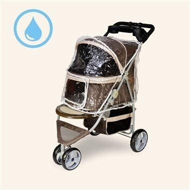沛德奧Petstro/推車雨衣/寵物推車雨罩/307-RC/雨罩