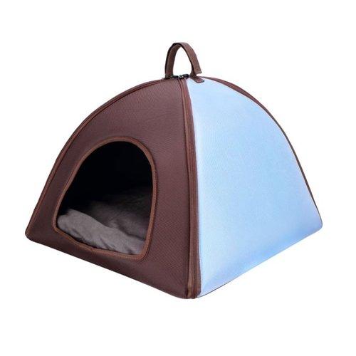 ibiyaya依比呀呀/加大版寵物三角窩FB1206-B/寵物睡窩/寵物睡床/犬貓睡墊