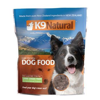 紐西蘭 K9 Natural 生食餐 (冷凍乾燥) 鮮草羊肚200g 天然益生菌 犬用鮮肉飼料 狗生食飼料