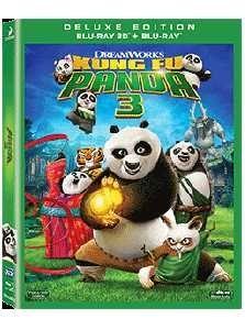 Kung Fu Panda 3 Blu-ray 3D
