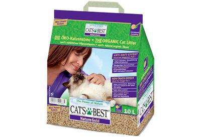 CAT'S BEST 德國 凱優貓砂 紫標 凱優紫標貓砂10L 貓沙 優質凝結木屑砂 凱優木削砂