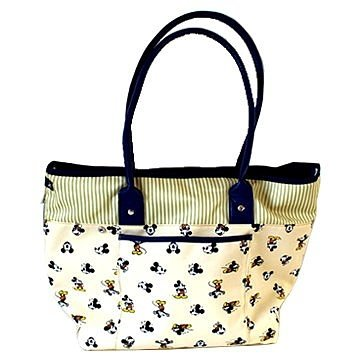 PET PARADISE 日本進口 DISNEY Mickey & Minnie 米奇印花手提包(超小型犬用)
