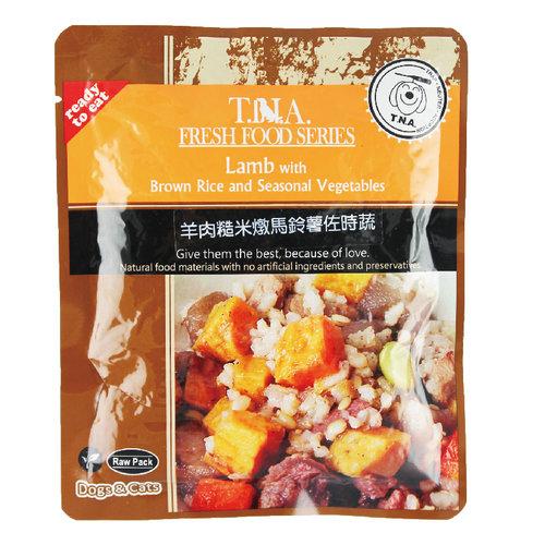 T.N.A. 悠遊餐包 紐西蘭羊肉燉糙米馬鈴薯佐時蔬 150g 寵物餐包 寵物點心