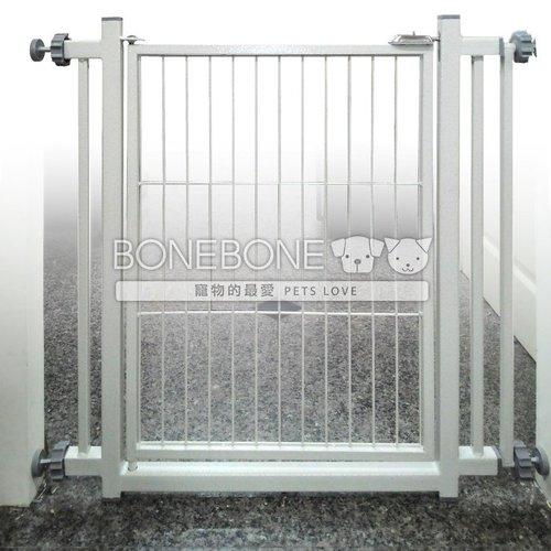 寵物用護欄 柵欄 門欄 安全門 C1-W82*H76CM(小) 金屬材質免工具 安裝便利