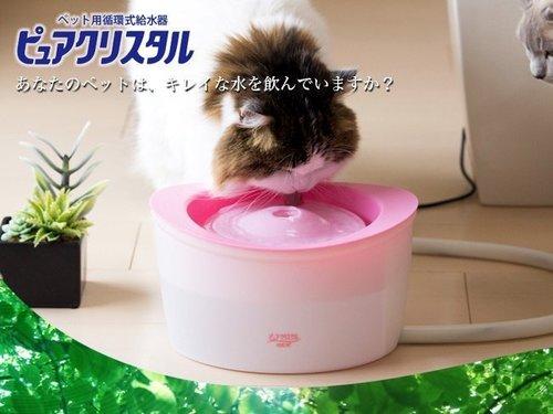 日本GEX電動 貓咪飲水機 1.8L 附1片濾心+公司保固