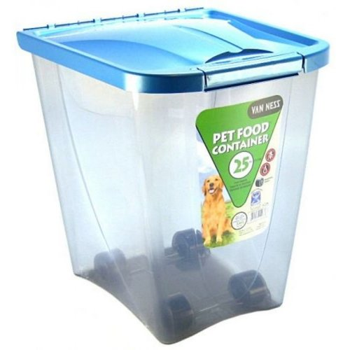 Van Ness Pet Food Container 25lb 飼料儲存桶 容量25磅