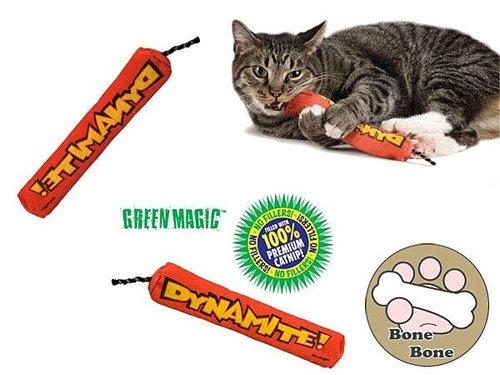 美國Petstages 魔力紅鞭炮/貓玩具/貓草/寵物玩具