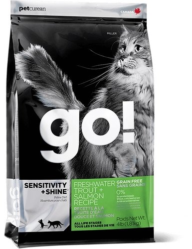 加拿大 GO!8磅 80%淡水鱒魚無穀貓糧