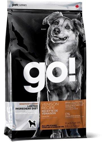 加拿大 GO!低致敏鹿肉全犬配方 天然犬糧/狗飼料 6磅