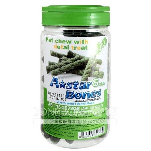 ABones草本綠色潔牙繩S 潔牙骨 寵物零食 潔牙骨 狗零食 A Bones