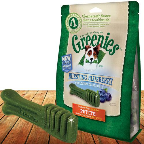 Greenies 健綠  藍莓 潔牙骨 12OZ 43入 2-7kg 340g 狗零食