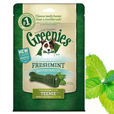 Greenies 健綠 薄荷 潔牙骨 12OZ 43入 2-7kg 340g 狗零食