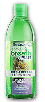 美國Fresh breath 鮮呼吸-寵物潔牙水/473ml (髖關節) 預防口臭/減少牙菌斑