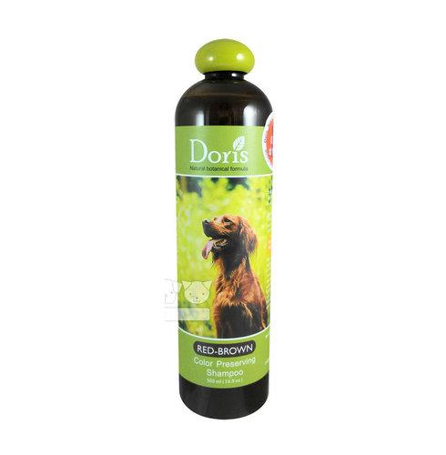 Doris 天然系列寵物洗毛精狗洗毛精(紅棕色犬護色洗毛精) 500ml 寵物沐浴乳