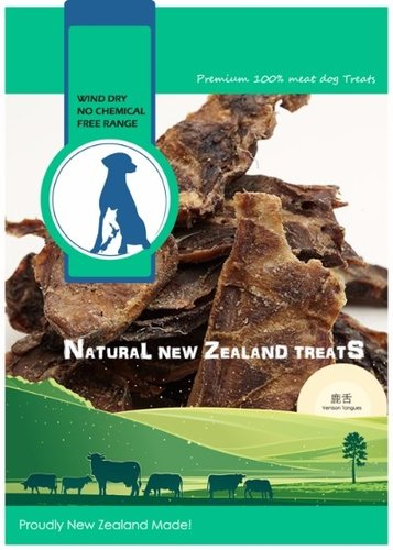 紐西蘭 100% 天然寵物零食-鹿舌135G