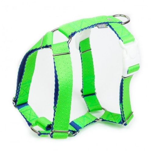 PPark -環保紗-雙扣H型胸背帶/綠/五種尺寸