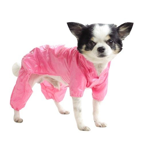 PPark -收納式風雨衣-粉紅色/9種尺寸