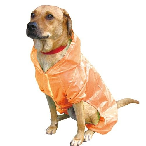PPark -收納式風雨衣-橘色/8種尺寸