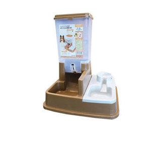 阿曼特《自動餵食器飲水器》飼料桶1.8公升 咖啡色賣場