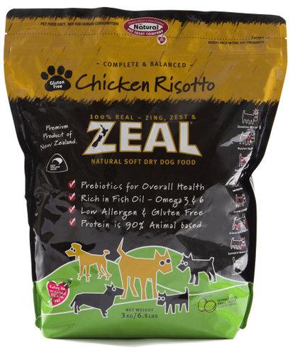 ZEAL 紐西蘭6.5LB天然寵物半軟全犬糧/軟飼料 雞肉口味