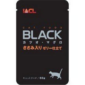 日本 iACL BLACK 貓咪餐包/寵物蒸鮮包/巧鮮包 貓餐包 60g (鮪魚+鰹魚+雞肉)