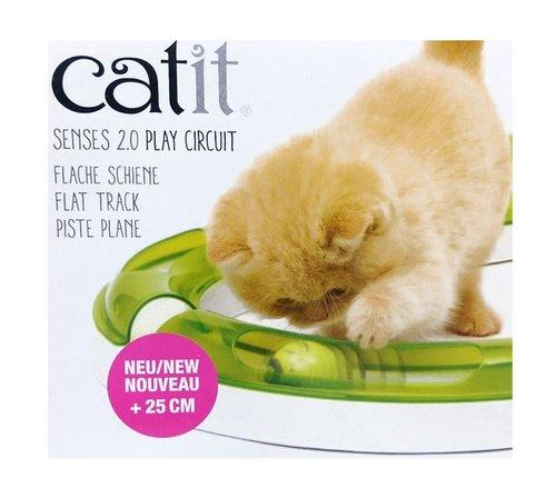 CATIT2.0 平地競速場 (CA-0041) 躲貓貓遊戲,貓遊戲 激發好奇心 捉球遊戲 貓玩具