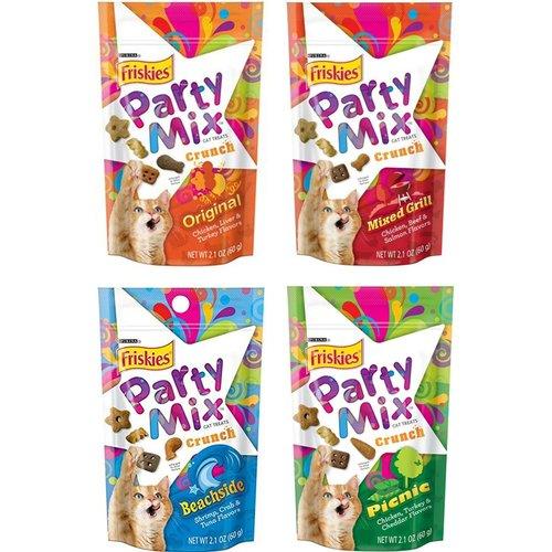 喜躍 Party Mix 香酥餅 (經典原味/海洋鮮味/雞肉派對/炙燒烤肉) 60g 貓點心
