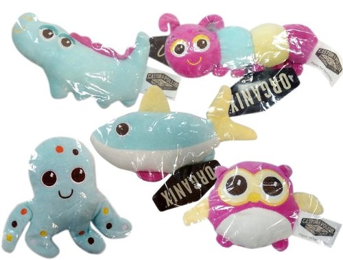 寵物絨毛玩具 嗶嗶叫玩具 章魚/鱷魚/鯊魚/貓頭鷹/毛毛蟲 不卡毛玩具 狗玩具 貓玩具 啾聲玩具