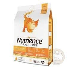 Nutrience紐崔斯 無穀養生貓系列‧火雞鮭魚5kg