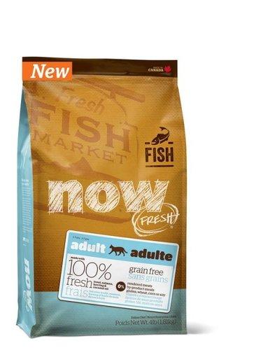 加拿大 NOW FRESH™ -8LB鮮魚無穀天然糧 成貓配方 貓乾糧飼料