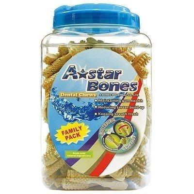 ABones刷頭亮白潔牙骨-家庭號SS/S/M(桶裝)