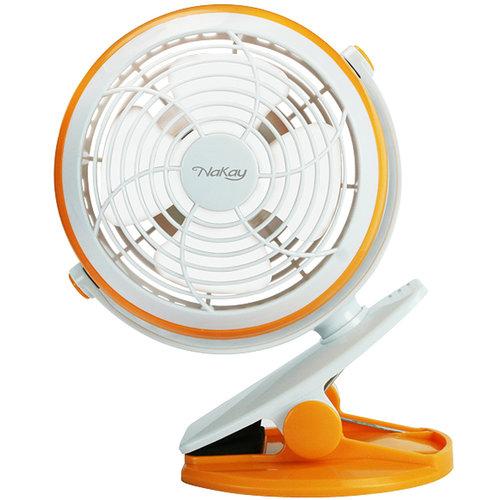 NAKAY (NUF-70) 4吋 夾立兩用4吋USB強力風扇 小風扇 涼扇 桌夾 立式 風扇 電扇