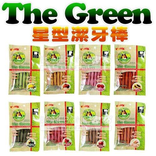 The Green 潔牙骨6支入袋裝 (羊蘋/牛肉蔓越莓/鮭薯/海魚牛油果/雞肉南瓜,木瓜,綠茶,草莓)