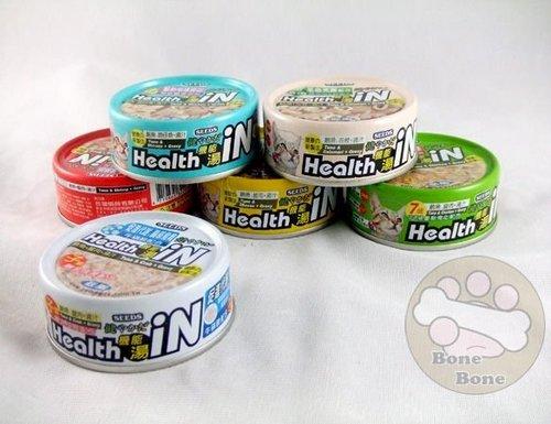 聖萊西SEEDS Health iN 惜時機能湯80g/貓罐/貓糧/六種口味