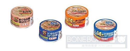 日本CIAO 貓罐系列-專為老齡貓特選罐頭-75g