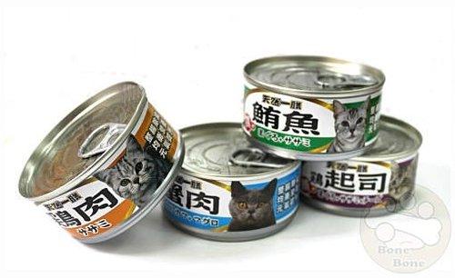 天然一膳(四種口味) 貓咪罐頭/貓罐頭/貓餐盒110g