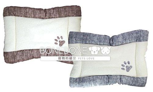 愛情貴族 寵物軟床墊/寵物床墊/寵物窩/狗狗床墊/狗狗睡窩/可機洗/二色可選(咖/藍)