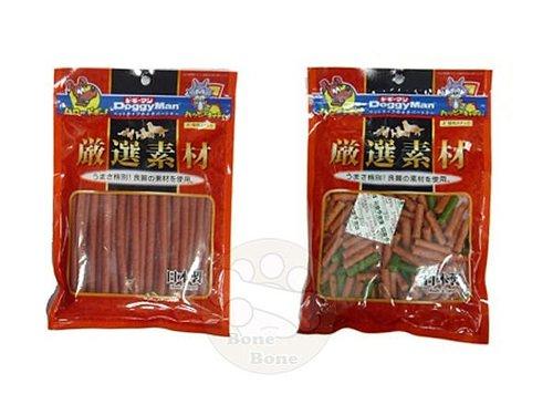 日本DoggyMan嚴選素材(蔬菜低脂短切雞肉條/原味低脂雞肉條)狗狗零食/點心200克