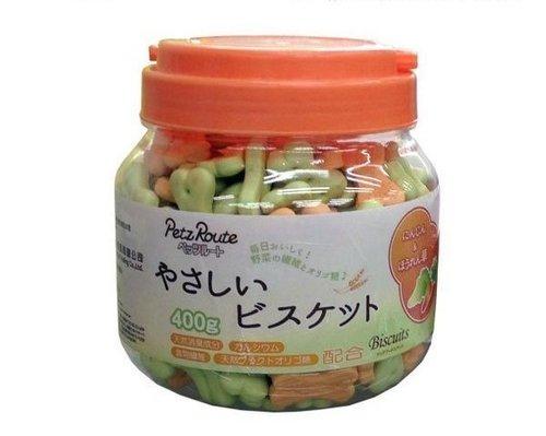 日本 Petz Route 沛滋露 犬用天然消臭骨型餅乾/天然消臭小饅頭造型餅乾/寵物零食/狗狗點心