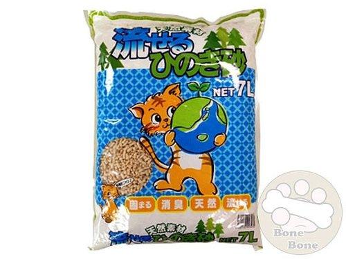日本HINOKI環保可沖式檜木貓砂 檜木貓砂 環保貓砂 貓砂